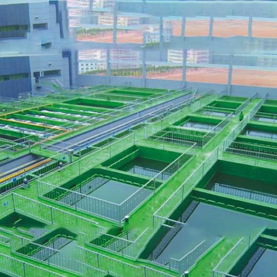 工业电子厂废水处理方案